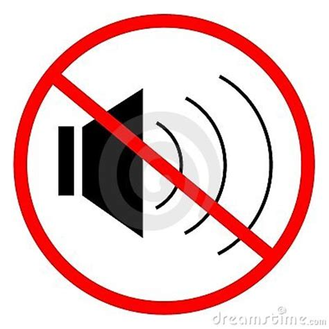 No Sound by No Sound Royalty Free Stock Image Image 16847216