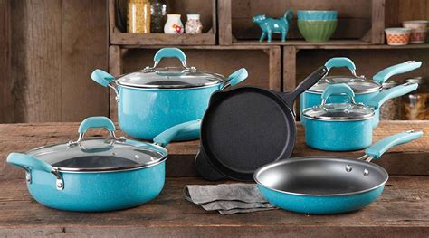 pioneer cookware woman piece pans speckle pan frying shipped consumerqueen walmart seasoned stick non pre merchandise giveaway matchups saving deals