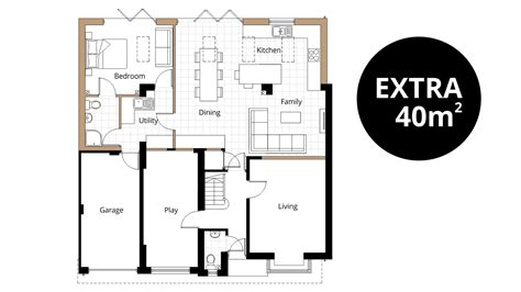kitchen extension floor plans bedroom extension ben williams home design and 4746
