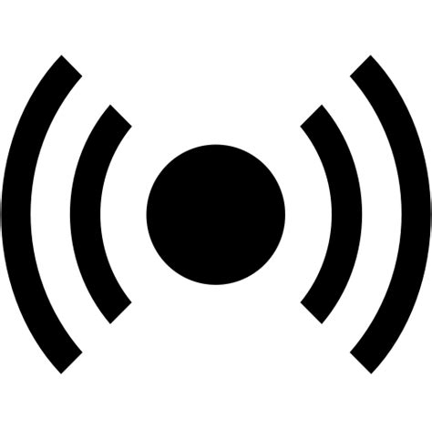 sensor smart city icon  png  vector format