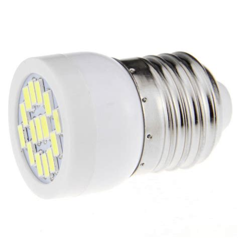 e27 3w led mini spotlight bulb bluish white light 7000k