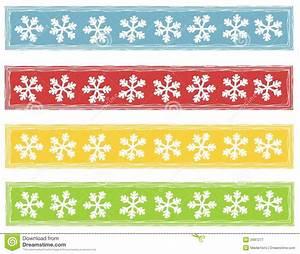 Rustic Snowflake Logos Banners Stock Illustration - Image ...
