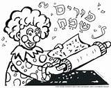 Purim Coloring Pages Clown Paint Dreidel Shamrock Printable Torah Adults Splatter Hebrew Ws Copy Sheets Happy Colorings Tots Getcolorings Esky sketch template