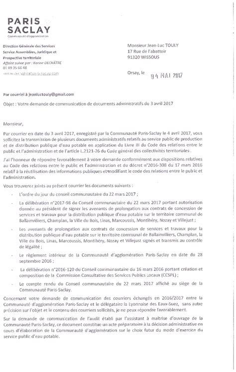 modele attestation reparation fuite eau r 233 ponse du 4 mai 2017 du pt de saclay m bournat 224 la