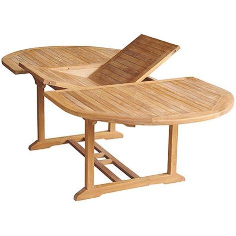 Table Jardin Teck by Table Exterieur Teck Ovale 150cm Extensible