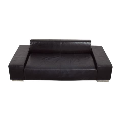 3 cushion leather sofa 66 off nuovo melodrom nuovo melodrom siena brown