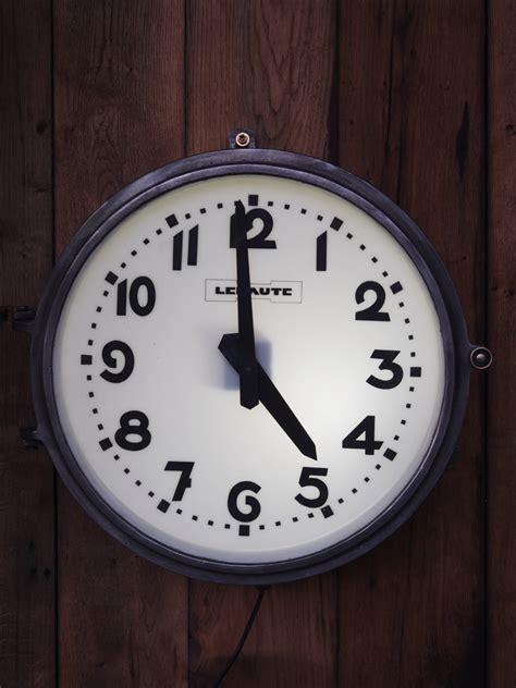 horloge de gare lepaute