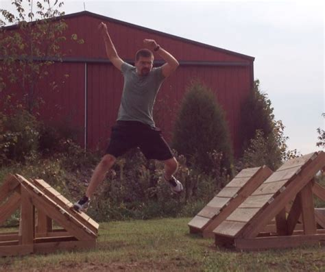 How To Do Parkour In Your Backyard by Steps Next American Warrior Obstacles