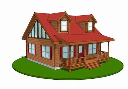Log Homes Modular Deluxe Mountaineer Cabin Cabins