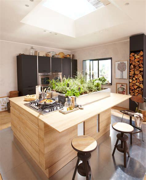 cuisines of cuisine en bois un matériau plusieurs styles