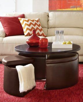 In that case, choose a lightweight and dark fabric that has a. Coffee Table With Pull Out Ottomans - Foter