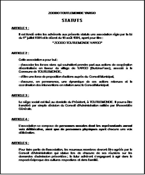 association modification bureau modification bureau association bureau d une association