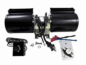 Fireplace Blower Kit Fan Replacement Gas Rotom Universal