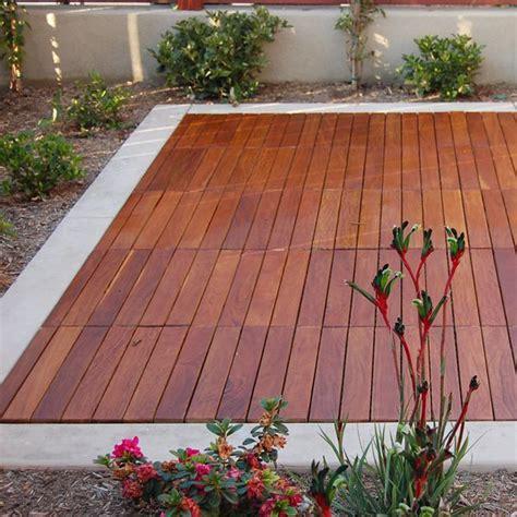 outdoor wood tiles curupay outdoor wood deck tiles homeinfatuation 1317