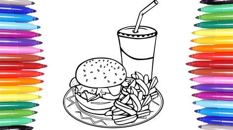 Hamburger French Fries Coca Cola