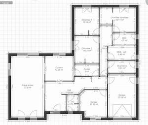 plan maison 140m2 plain pied plan maison maisons chambre With superb plan de maison de 100m2 1 plan maison plain pied 150m2 avis premier plan plain pied