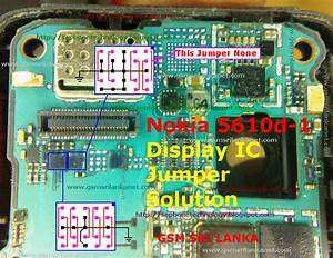 Nokia 5610d-1 Display Ic Jumper