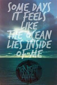 The Ocean Tonight Alive Lyrics