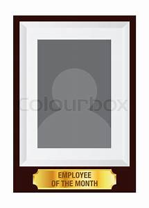 Certificate Of Accomplishment Vector Stock Of Employee Of The Month Stock Vector