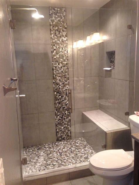 completed shower door  denver colorado   bathroom