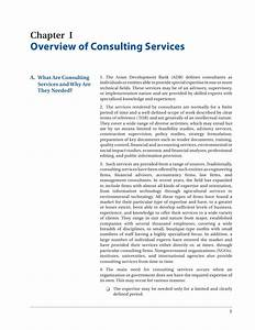 Consulting Services Operation Manual  Asian Development Bank
