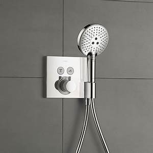 Hansgrohe Thermostat Unterputz : select von hansgrohe wasser auf knopfdruck hansgrohe de ~ Frokenaadalensverden.com Haus und Dekorationen