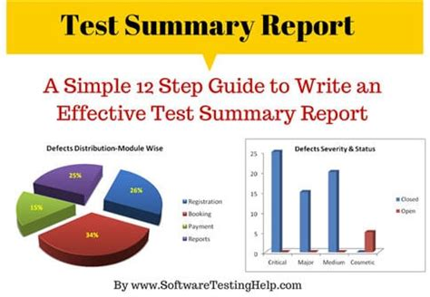 simple  steps guide  write  effective test summary