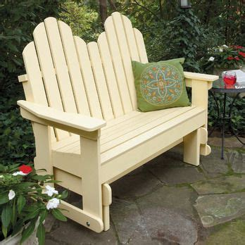 adirondack glider woodworking plan  woodcraft magazine