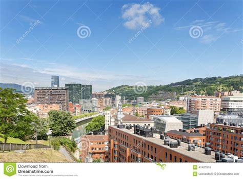 carrelage espagne pays basque vues de ville de bilbao bizkaia pays basque espagne photo stock image 41407818