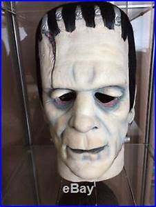 Don Post Mask Karloff Frankenstein Calendar Reissue ...
