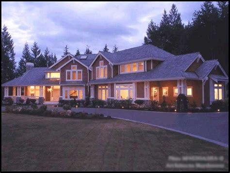 craftsman luxury house plans home design cd