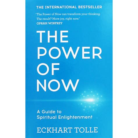 The Power Of Now  A Guide To Spiritual Enlightenment By