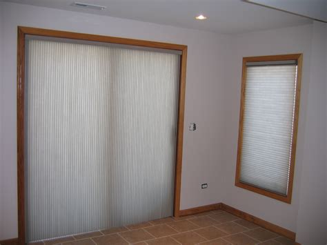 patio and sliding doors and functional window treatments