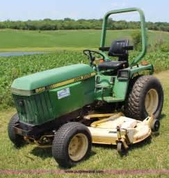 John Deere 855 Mfwd Garden Tractor