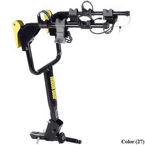 rhode gear bike rack receiver hitch 3 bike rack by rhode gear 66910 save 40