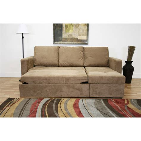 Convertibles Sofa With Chaise by Tila Convertible Sofa With Storage Chaise Dcg Stores