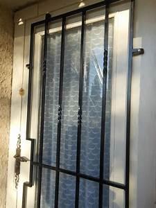 grille de defense sur mesure en fer forge a roquefort la With grille de défense pour porte d entrée