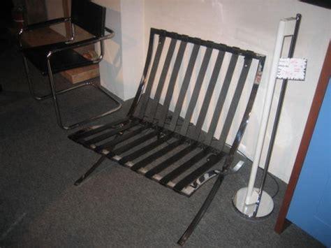 Poltrona Barcellona Ludwig Mies Van Der Rohe Long Chair