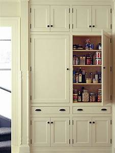 Shallow pantry cabinets houzz for Wall pantry cabinet ideas