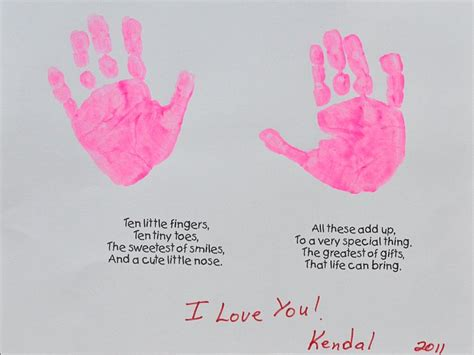 minute mothers day handprint craft thesuburbanmom