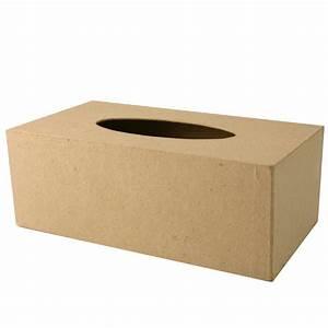 Boite Mouchoir Bois : boite mouchoirs en papier mach boite mouchoir creavea ~ Teatrodelosmanantiales.com Idées de Décoration