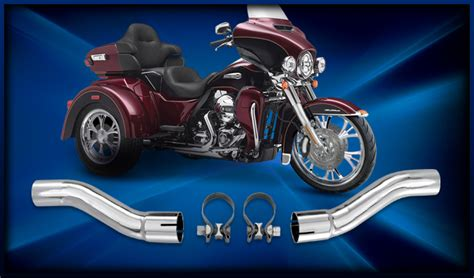 Motorcycle Exhaust Trike Extensions
