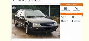 Renault 25 Turbo Dx : leboncoin renault 25 turbo dx limousine noire ~ Gottalentnigeria.com Avis de Voitures