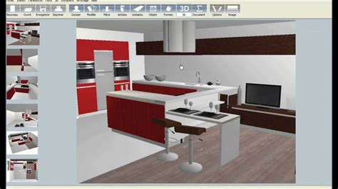 plan 3d cuisine logiciel de cuisine 3d