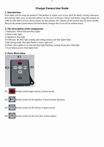 Charger Camera User Guide