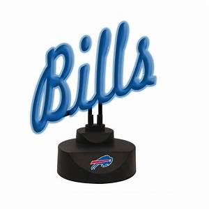 Buffalo Bills Script Neon Desk Lamp Sports Merchandise