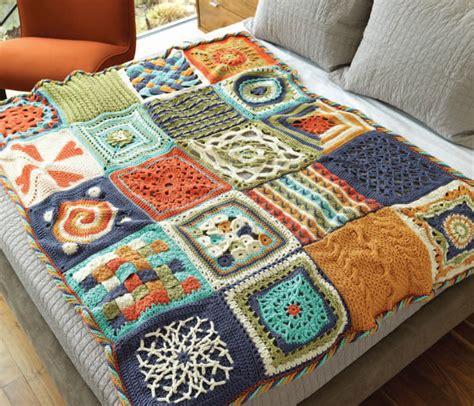 crochet afghan patterns crochetme
