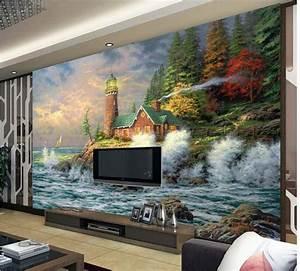 Peinture Sur Papier Peint Existant : nouvelle grande fresque personnaliser papier peint non ~ Premium-room.com Idées de Décoration
