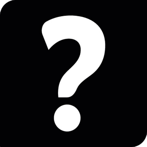 Question mark inside square ⋆ Free Vectors, Logos, Icons ...