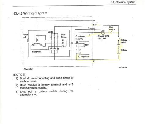 isuzu npr alternator wiring diagram sle